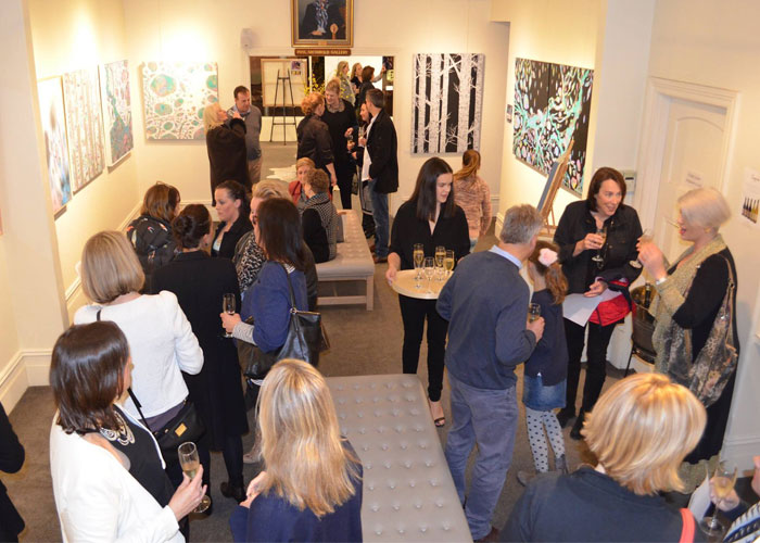 Opening Night Sherren Comensoli 2016 Exhibition